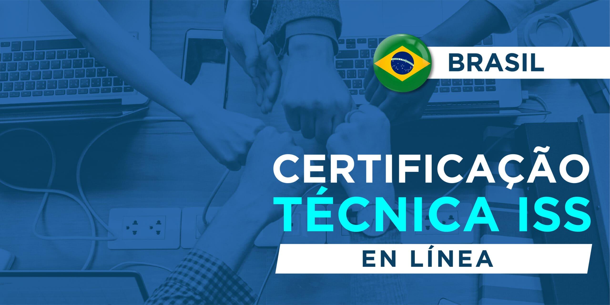 Certificação Técnica ISS – VMS e Analiticos